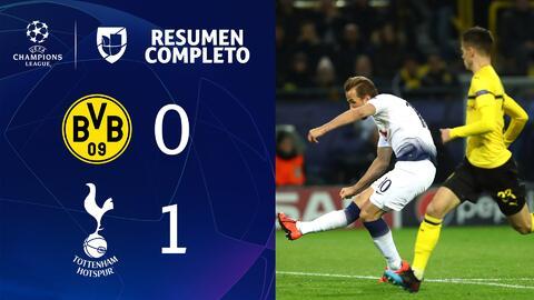 Borussia Dortmund 0-1 Tottenham Hotspur – GOL Y RESUMEN – VUELTA OCTAVOS DE FINAL – UEFA Champions League