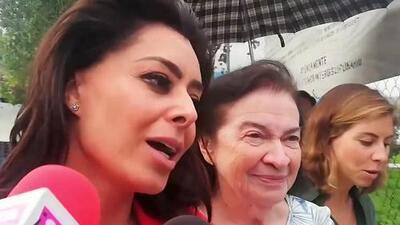 Acompañada de la suegra y la ex, Yadhira Carrillo visitó en la cárcel a su esposo Juan Collado