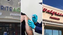 Las cadenas de farmacias que vacunan contra el coronavirus en California
