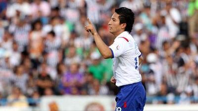 César Villaluz, último mexicano que metió un gol en Monterrey durante un Rayados-Cruz Azul