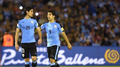 Con Luis Suárez y Edinson Cavani a la cabeza, Uruguay tiene convocados para la China Cup