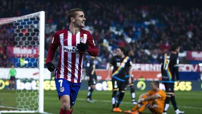 El Atlético de Madrid golea 3-0 al Rayo con Correa y Griezmann y se mete a cuartos de Copa