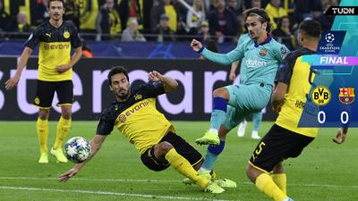 En el regreso de Messi, Ter Stegen salvó al Barça en Dortmund