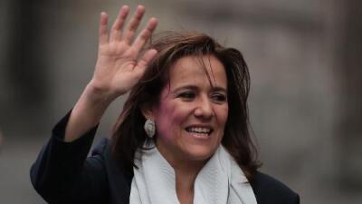 La aspirante independiente Margarita Zavala renuncia a su candidatura a la presidencia de México