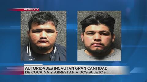 Arrestan a dos hombres en conexión con drogas