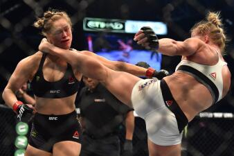 La caída de Ronda Rousey