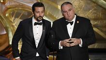 """""""Ya se puede hablar español en los Oscar"""", dijo Diego Luna durante la premiación y no fue el único"""