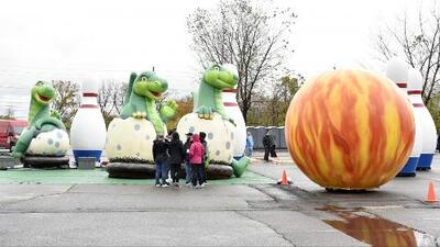 Ultiman detalles para el desfile de Macy's por el Día de Acción de Gracias