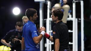Thiem y Medvedev echan a Djokovic y Nadal de la Copa Masters