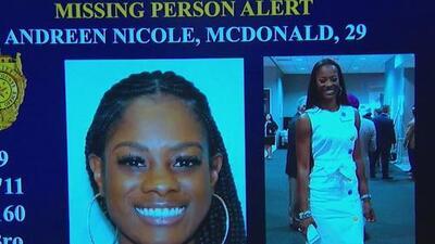 Autoridades confirman que los restos hallados en propiedad pertenecen a Andreen McDonald