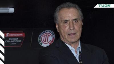 José Luis Real sale del Toluca