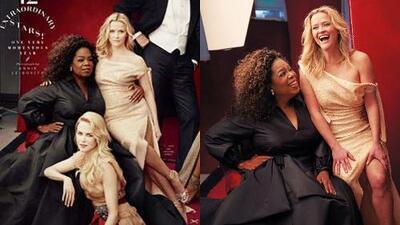 Oprah Winfrey tiene tres manos, Reese Witherspoon, tres piernas. Y así se ven