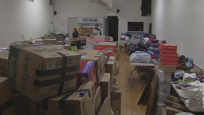 Continúan recolectando ayudas en Chicago para los damnificados por los huracanes Iota y Eta en Centroamérica