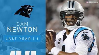 #44: Cam Newton (QB, Panthers) | Top 100 Jugadores 2017