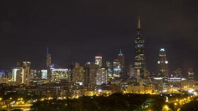 Las buenas condiciones se quedarán en Chicago para la noche de este viernes, sin posibilidad de aguaceros