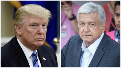 """López Obrador evita la confrontación con Trump y dice que México actuará """"con prudencia"""" ante medidas arancelarias"""