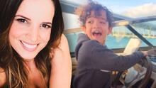 """La exesposa de Nacho Mendoza comparte el tierno """"mejor día de la vida"""" de su hijo Santiago de 7 años"""