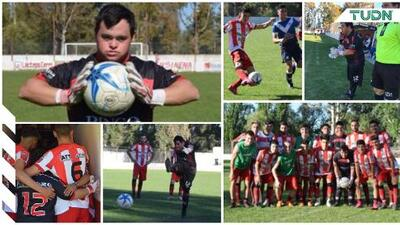 Giuliano Pambianco, portero con Síndrome de Down que debuta a los 29 años
