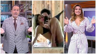 ¿A Clarissa Molina no le gustó el candente video de Sebastián Yatra con Tini Stoessel? El Gordo la delata
