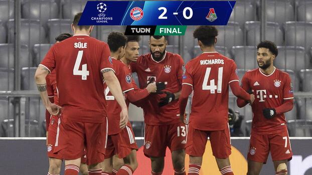 Bayern Múnich derrota al Lokomotiv y lo deja sin Europa League