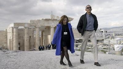 """Obama en Atenas: """"La democracia en Estados Unidos es más grande que cualquier persona"""""""
