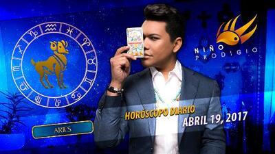 Niño Prodigio - Aries 19 de abril 2017