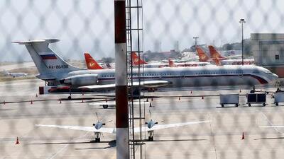 La llegada de dos aviones rusos a Venezuela con un centenar de militares desata todo tipo de suspicacias