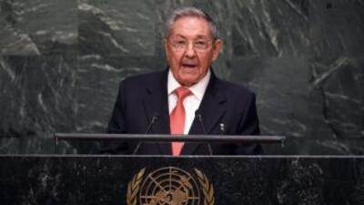 Raúl Castro se estrenó ante la ONU censurando el embargo de EEUU