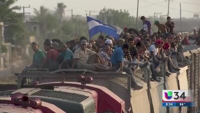 Trump amenaza con enviar soldados armados a frontera con México