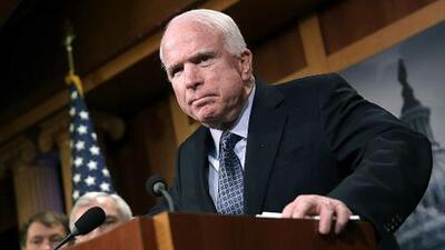 John McCain y Donald Trump, historia de una relación tortuosa