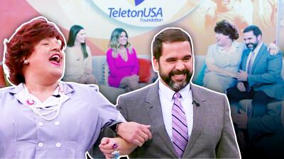Ya tenemos a nuestros Shakira y Piqué: Albert Martínez terminó nervioso y tartamudeando por los coqueteos de Meche