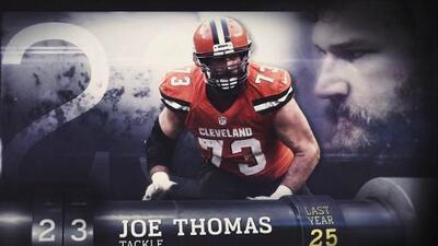 Top 100 Jugadores del 2016: (Lugar 23) T Joe Thomas