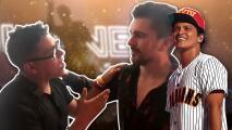 """Juanes conoce al """"hermano"""" colombiano de Bruno Mars y lo saluda en pleno concierto"""
