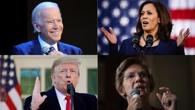 Así está la carrera para las elecciones presidenciales de 2020 en Estados Unidos