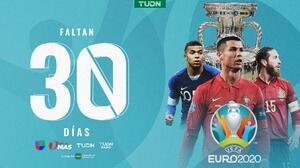¡A 30 días! Así la actualidad de la Eurocopa 2021 a un mes de iniciar