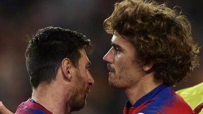 Para Antoine Griezmann, Messi es una leyenda con quien ya anhela compartir cancha