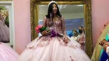 """""""Este vestido es tuyo"""": sorprendimos a una quinceañera al hacer realidad su sueño y el de su mamá"""