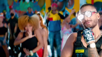 Maluma's new music video is a huge block party