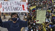"""📸 """"Paremos esta guerra civil""""; Cómo entender qué sucede en Colombia y qué están diciendo los famosos de ese país"""