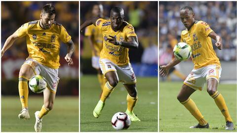 En Tigres afilan sus 'garras': Gignac ya trota; Quiñones y Valencia recuperados ante el América