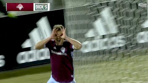 Diego Rubio quema las redes gracias a un terrible 'oso' del portero, Colorado 1-0 Sporting KC