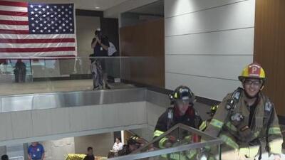 Así rindieron homenaje en Fort Worth a los oficiales caídos durante los ataques del 11 de septiembre