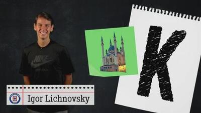 Igor Lichnovsky se bloqueó al llegar a la K en el Juego de Basta