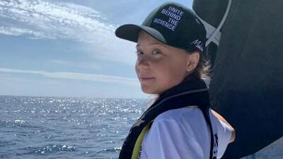 La activista Greta Thunberg llega a Nueva York tras su travesía de dos semanas por el Atlántico