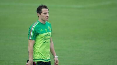Andrés Guardado se pierde la eliminatoria por lesión