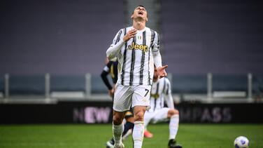 Cristiano no alcanzó a recuperarse y es baja del Atalanta-Juventus