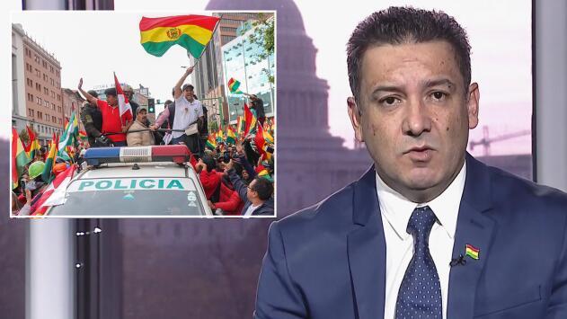 """""""Un quiebre constitucional evidente"""" aqueja a Bolivia, señala el exembajador del país en EEUU"""