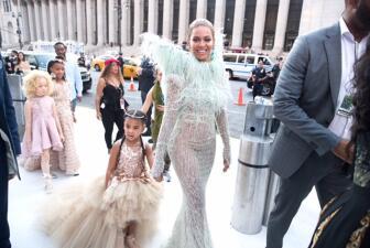 Madre e hija: Beyonce comparte un momento muy especial con su pequeña Blue Ivy