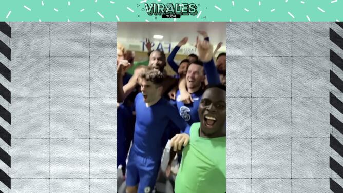Mendy, Pulisic y compañía celebran el pase del Chelsea a la Final