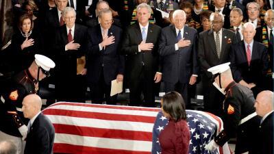 """📸""""Somos mejores que esto"""": las palabras de Elijah Cummings resuenan en la ceremonia para despedirlo en el Congreso"""